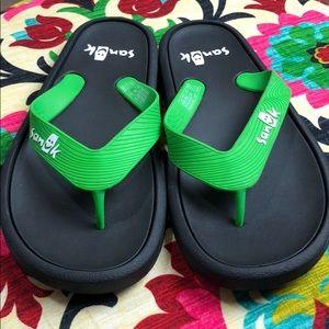 Sanuk Unisex Sidewalker Flip Flop